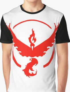 pokemon GO team valor Graphic T-Shirt