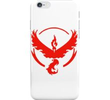 pokemon GO team valor iPhone Case/Skin