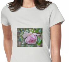 Rose, Not yet faded....... Womens Fitted T-Shirt