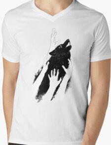 Wolves of Paris Mens V-Neck T-Shirt