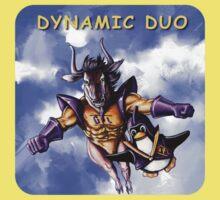 GNU & TUX Dynamic Duo Baby Tee