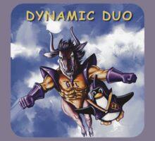 GNU & TUX Dynamic Duo Kids Tee