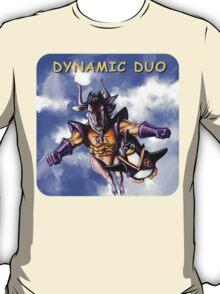 GNU & TUX Dynamic Duo T-Shirt