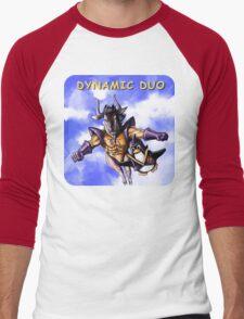 GNU & TUX Dynamic Duo Men's Baseball ¾ T-Shirt