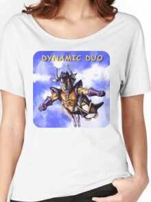 GNU & TUX Dynamic Duo Women's Relaxed Fit T-Shirt