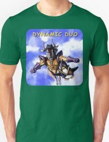 GNU & TUX Dynamic Duo Unisex T-Shirt