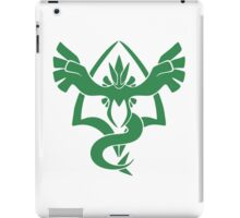 pokemon GO team serenity iPad Case/Skin