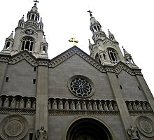 SAINTS PETER AND PAUL CATHOLIC CHURCH SAN FRANCISCO by JAYMILO