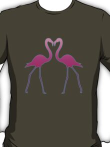 Flamingo In Love T-Shirt