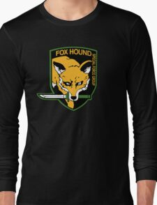-METAL GEAR SOLID- Fox Hound Long Sleeve T-Shirt