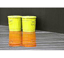 Colourful Cans Photographic Print