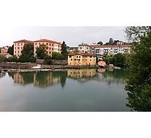 view of the river Photographic Print