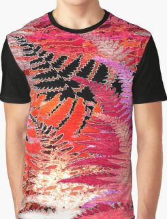 Ferns, Morning Blush Graphic T-Shirt