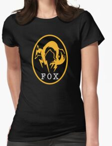 -METAL GEAR SOLID- FOX Womens Fitted T-Shirt