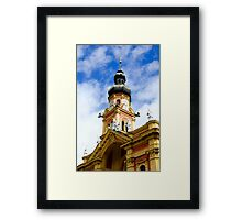 Wilten Abbey Tower, Innsbruck, Austria Framed Print