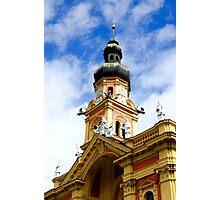 Wilten Abbey Tower, Innsbruck, Austria Photographic Print