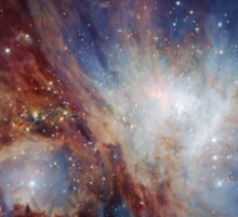 A deep infrared view of the Orion Nebula from HAWK-I Sticker