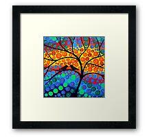 Tree of Joy III Framed Print