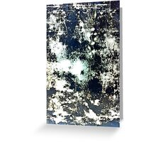 Tray abstract landscape Greeting Card