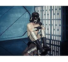 Wash Day on the Death Star Photographic Print