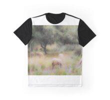 Spanish pastoral scene Graphic T-Shirt