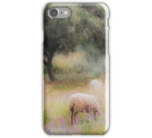 Spanish pastoral scene iPhone Case/Skin