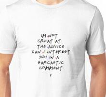Chandler Bing qoutes Unisex T-Shirt