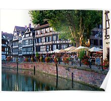 Dining in Alsace Poster
