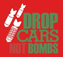 Drop Cars Not Bombs (1) Kids Clothes