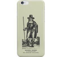 Matthew Hopkins iPhone Case/Skin