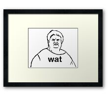 wat Framed Print