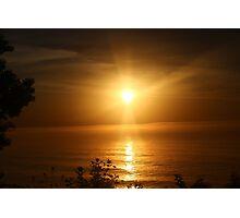 Sheboygan,  Wisconsin sunrise Photographic Print