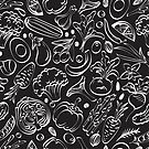- Vegetable pattern - by Losenko  Mila