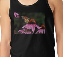 Monarch making friends with a bee... Tank Top