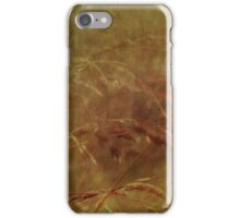 wild grasses 4 iPhone Case/Skin
