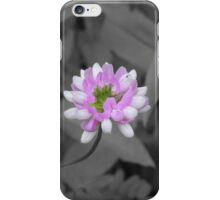 Crown Vetch (selective coloring) iPhone Case/Skin