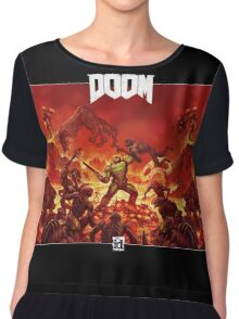 DOOM - Modern Version Chiffon Top
