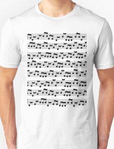 Musical notes Unisex T-Shirt