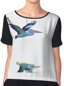 Pelican on the Move Chiffon Top