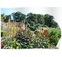 The Dream Garden, Dunster Castle and Gardens Poster