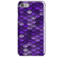 Purple Scales iPhone Case/Skin