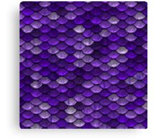 Purple Scales Canvas Print