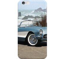 1956 Chevrolet Corvette Convertible 'Pacific Coast' iPhone Case/Skin