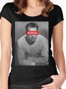 BUÑUEL - OBEY Women's Fitted Scoop T-Shirt
