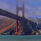under the golden gate bridge by vigor