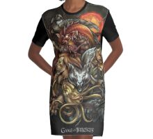 GAME OF THRONES Graphic T-Shirt Dress