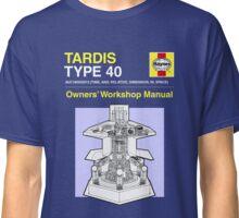 TARDIS - Type 40 - Owners' Manual Classic T-Shirt