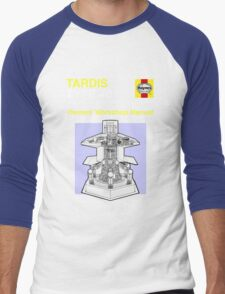 TARDIS - Type 40 - Owners' Manual Men's Baseball ¾ T-Shirt