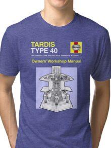 TARDIS - Type 40 - Owners' Manual Tri-blend T-Shirt