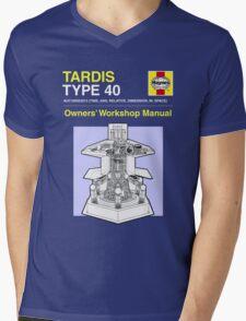 TARDIS - Type 40 - Owners' Manual Mens V-Neck T-Shirt